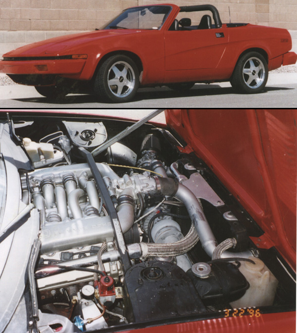 Triumph Tr7 With Ford Sho Engine Engine Swap Depot